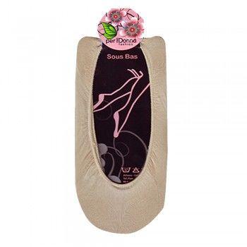 306 Γυναικείο βαμβακερό αόρατο καλτσάκι σουμπά