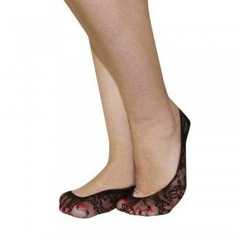 Γυναικεία κάλτσα σουμπά  με δαντέλα