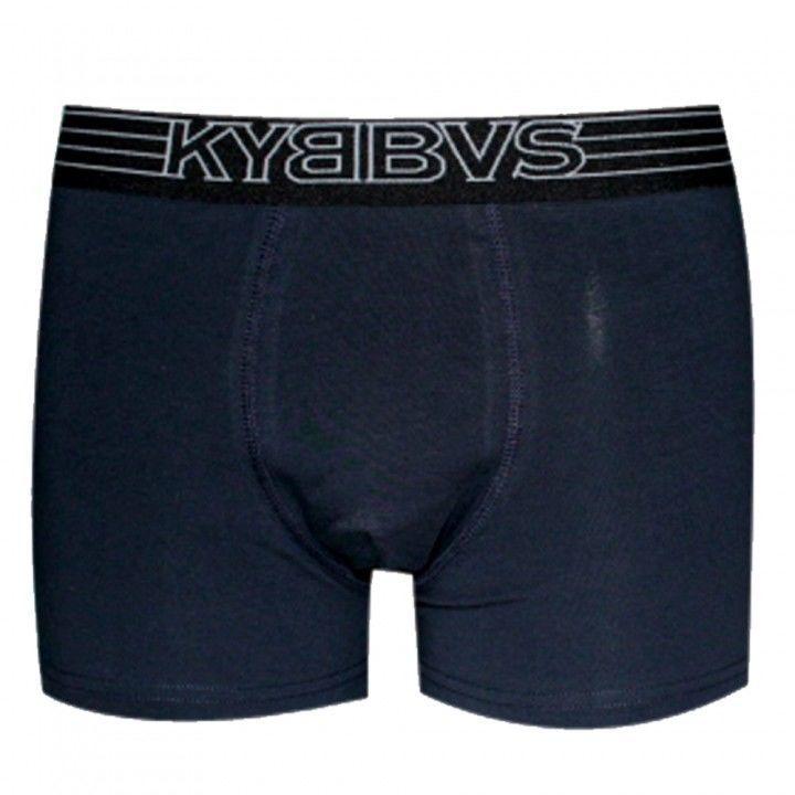 Ανδρικό μπόξερ με εξωτερικό λάστιχο  Kybbvs μπλέ σκούρο
