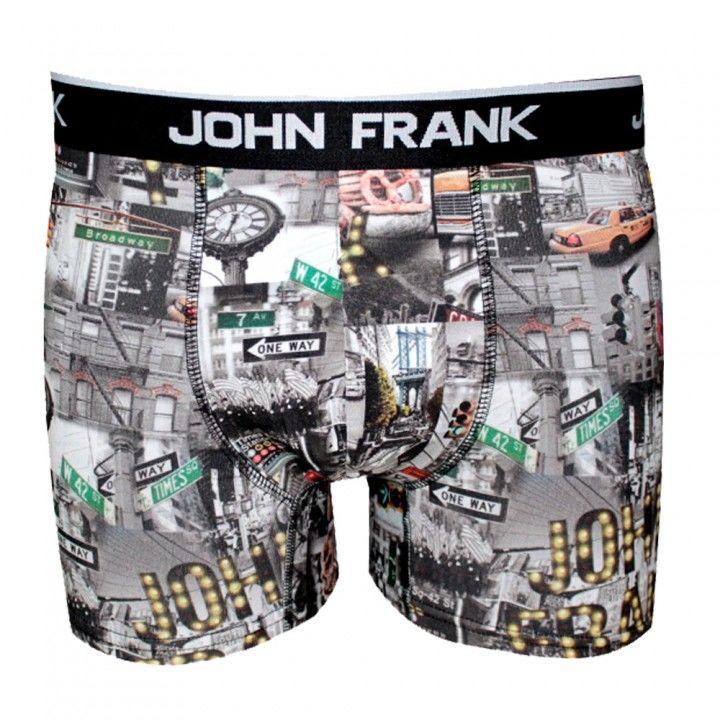Ανδρικό μπόξερ John Frank σχέδιο New York