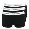 Calvin Klein μπόξερ 3 Pack μαύρο
