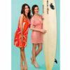Φόρεμα θαλάσσης απο διάτρητο ύφασμα σε διάφορα χρώματα Harmony