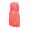 Φόρεμα θαλάσσης βαμβακερό strapless με λάστιχο στη μέση  Bluepoint σε διάφορα χρώματα