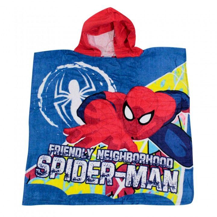 Παιδική πετσέτα θαλάσσης πόντσο  Disney Spiderman