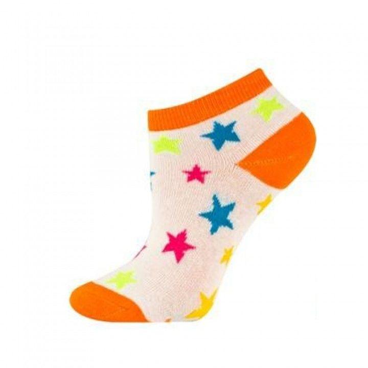 Γυναικεία κοφτή βαμβακερή κάλτσα Soxo Stars