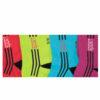 Γυναικεία βαμβακερή κάλτσα ημίκοντη με σχέδιο σε διάφορα χρώματα
