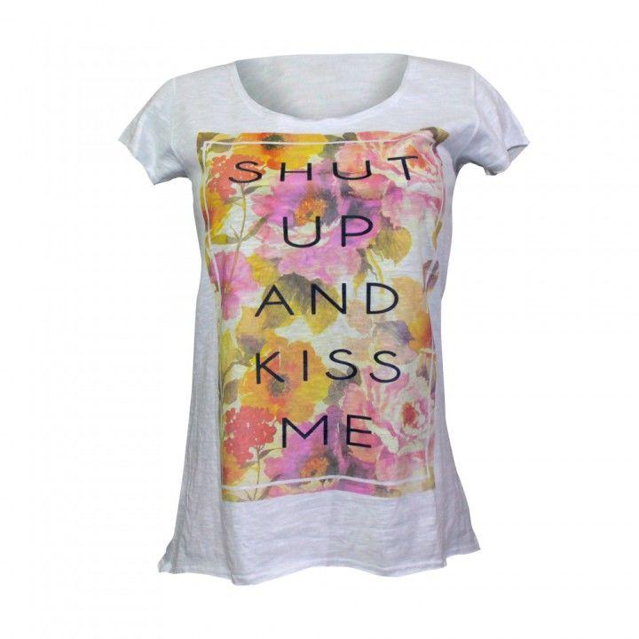 Γυναικεία μπλούζα βαμβακερή Jadea σχέδιο Fiori