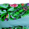 Μαγιό strapless bandeau Ocean Floral Blu4u με ενίσχυση