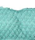 Μαγιό Σετ strapless bandeau & σλίπ με κρόσια Bluepoint aqua
