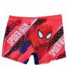 Παιδικό μαγιό boxer Spiderman μονόχρωμο στο μπροστά μέρος και εμπριμέ με αναπαράσταση του παιδικού ήρωα πίσω!