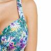 Γυναικείο ολόσωμο μαγιό Floral Blue
