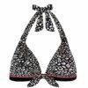 Γυναικείο μαγιό  τρίγωνο με ενίσχυση Animal Print