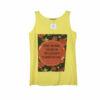 Γυναικεία μπλούζα αμάνικη Noobass με τύπωμα μπροστά σε διάφορα χρώματα