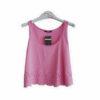 Γυναικεία μπλούζα αμάνικη κοντή Noobass διάφορα χρώματα
