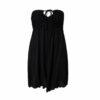 Φόρεμα strapless θαλάσσης με δέσιμο στο λαιμό