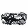 Γυναικείο μαγιό strapless White & Black Floral