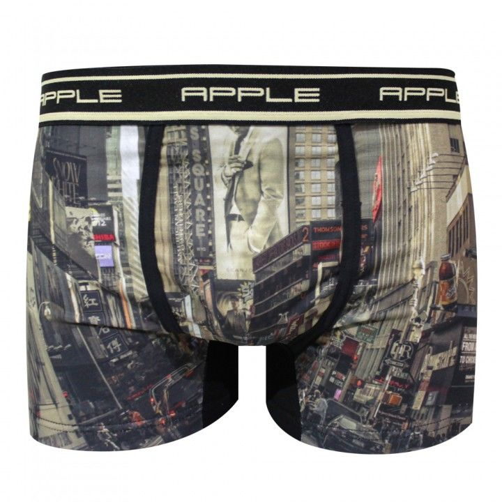 Ανδρικό μπόξερ Apple με εξωτερικό λάστιχο New York.
