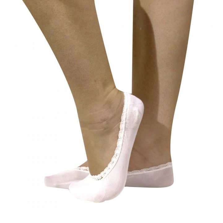 Γυναικεία κάλτσα σουμπά Meryl πολύ μαλακή με δαντέλα
