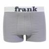 Ανδρικό μπόξερ  John  Frank γκρι ανοιχτό με λευκό εξωτερικό λάστιχο 4041