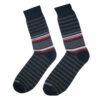 Ανδρική κάλτσα βαμβακερή ριγέ