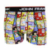 Ανδρικό μπόξερ  John  Frank σχέδιο  Comics