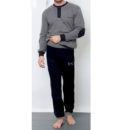 Ανδρική βαμβακερή πυτζάμα Enrico Coveri  με λάστιχο στο παντελόνι
