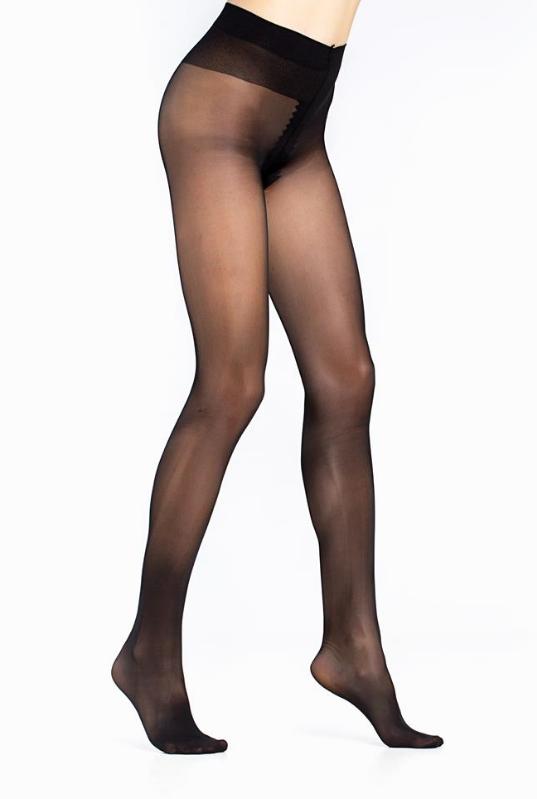 Γυναικείο καλσόν 40 den μονοκόμματο Μαύρο