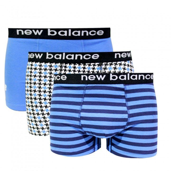 Ανδρικό βαμβακερό μποξεράκι New Balance 3 Pack