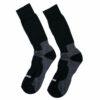 Ανδρική μαύρη ισοθερμική κάλτσα έως το γόνατο