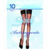 Καλτσοδέτα Γυναικεία λεπτή για πέδιλο 10Den - Φαρδιά Δαντέλα με Σιλικόνη