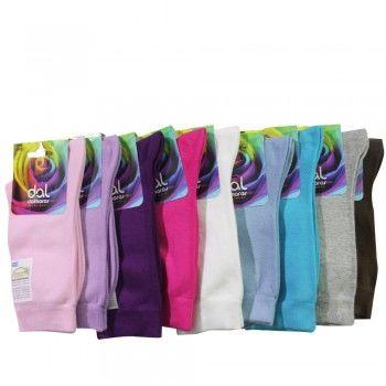 Γυναικεία ημίκοντη κάλτσα βαμβακερή Dal 200D Χρώματα