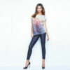 Γυναικείο μακρύ t-shirt jadea