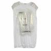 Γυναικεία μπλούζα μακρυά Jadea σε λευκό & μαύρο 3024j