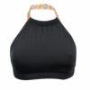 Γυναικείο μαγιό Crop Top Ethnic μαύρο Bluepoint 636649