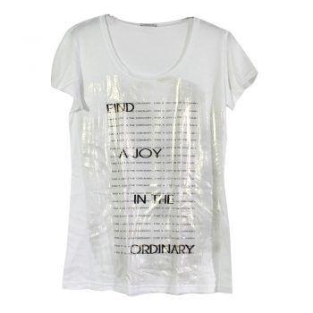 Γυναικεία κοντομάνικη μπλούζα Jadea