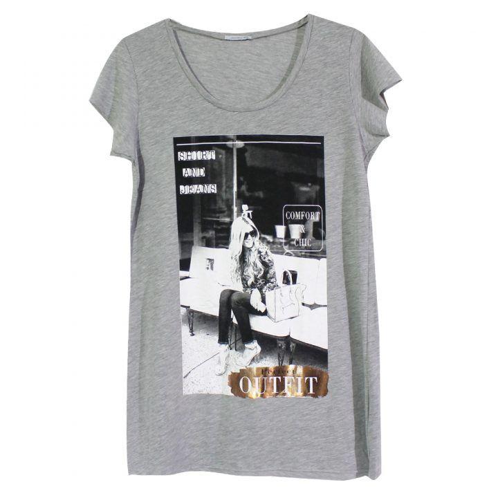Γυναικείο κοντομάνικο t-shirt Jadea