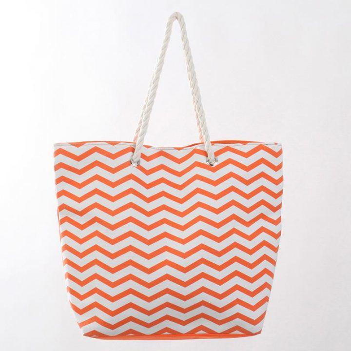 Γυναικεία τσάντα θαλάσσης υφασμάτινη
