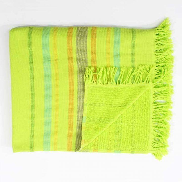 Πετσέτα θαλάσσης  Pestemal lime