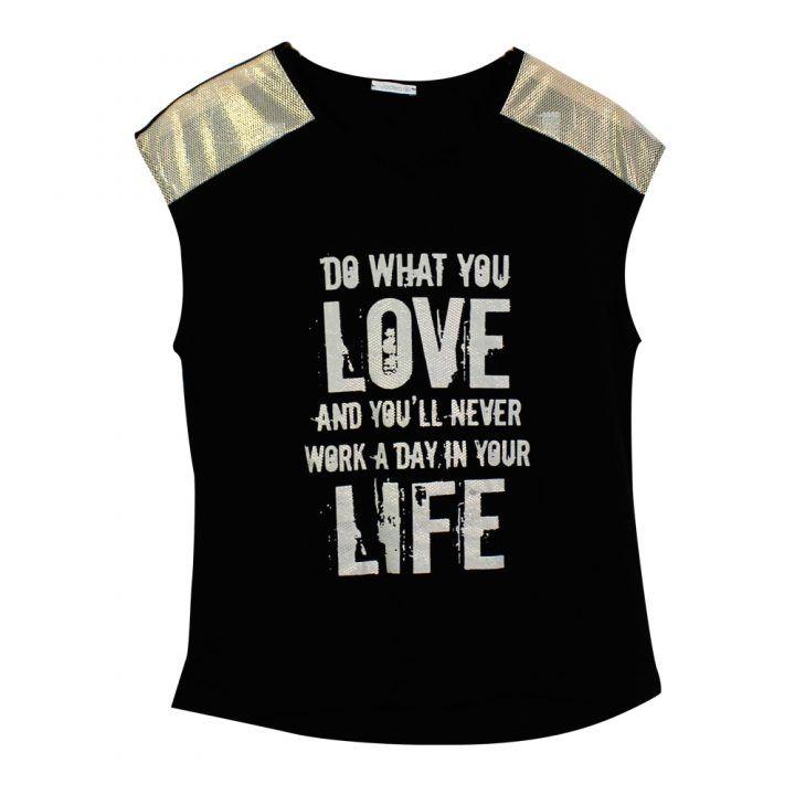 Γυναικείο σετ Jadea αμάνικη μπλούζα με σορτς
