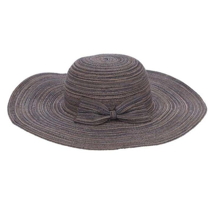 Γυναικείο καπέλο ψάθινο φιόγκος
