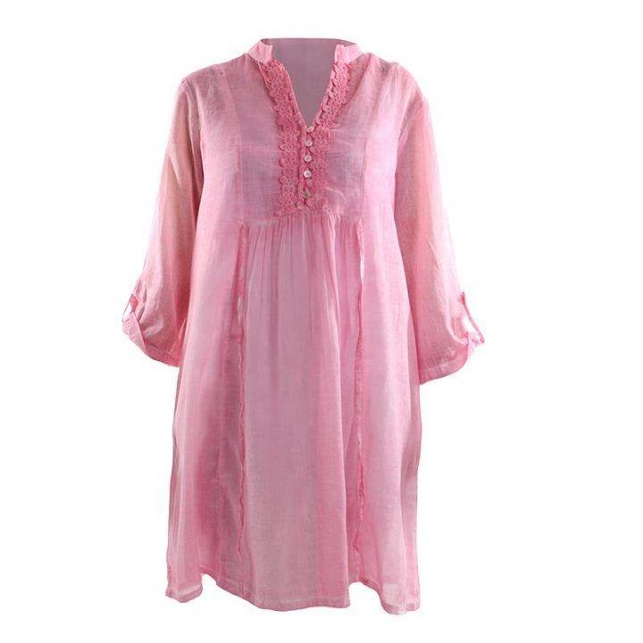 Καφτάνι γυναικείο ροζ