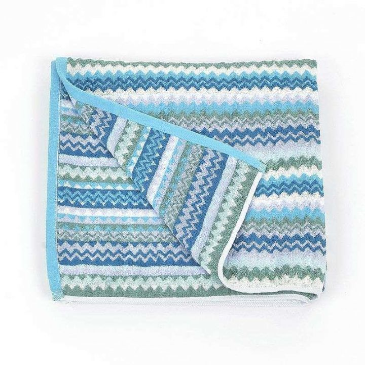 Πετσέτα θαλάσσης ριγέ Modern Blue