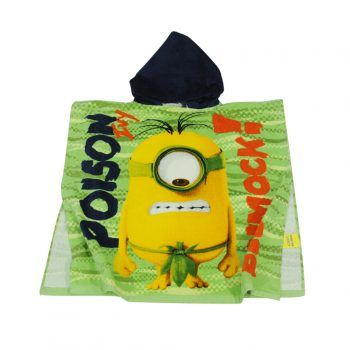 Παιδική πετσέτα θαλάσσης πόντσο Minions