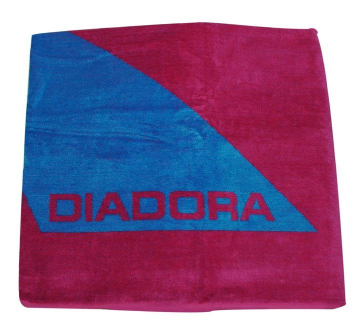 Πετσέτα θαλάσσης διπλής όψης φούξια Diadora