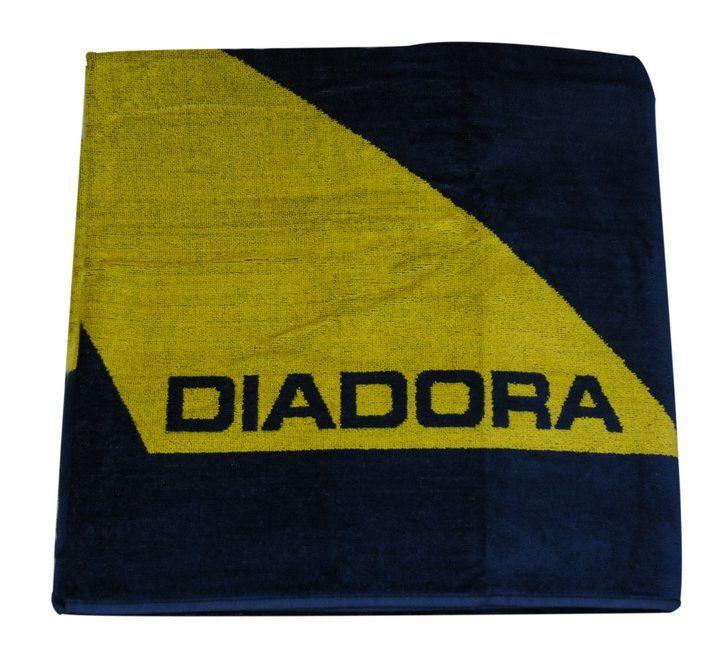 Πετσέτα θαλάσσης διπλής όψης μπλέ Diadora