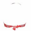 Γυναικείο μαγιό strapless με βολάν Blu4u