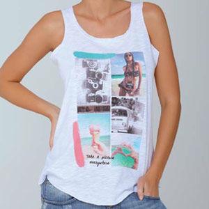 Γυναικεία μπλούζα τιράντα Pictures by Jadea