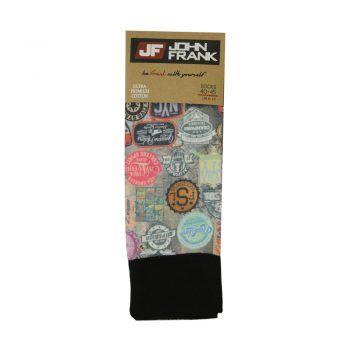 Ανδρική κάλτσα  John Frank σχέδιο Stamps