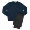 Ανδρική πυτζάμα μπλε σκούρο Mei
