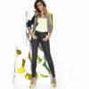 Γυναικείο τζιν κολάν Avril Bas Bleu